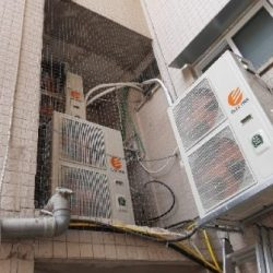 רשת נגד יונים למסתור מנוע מזגן